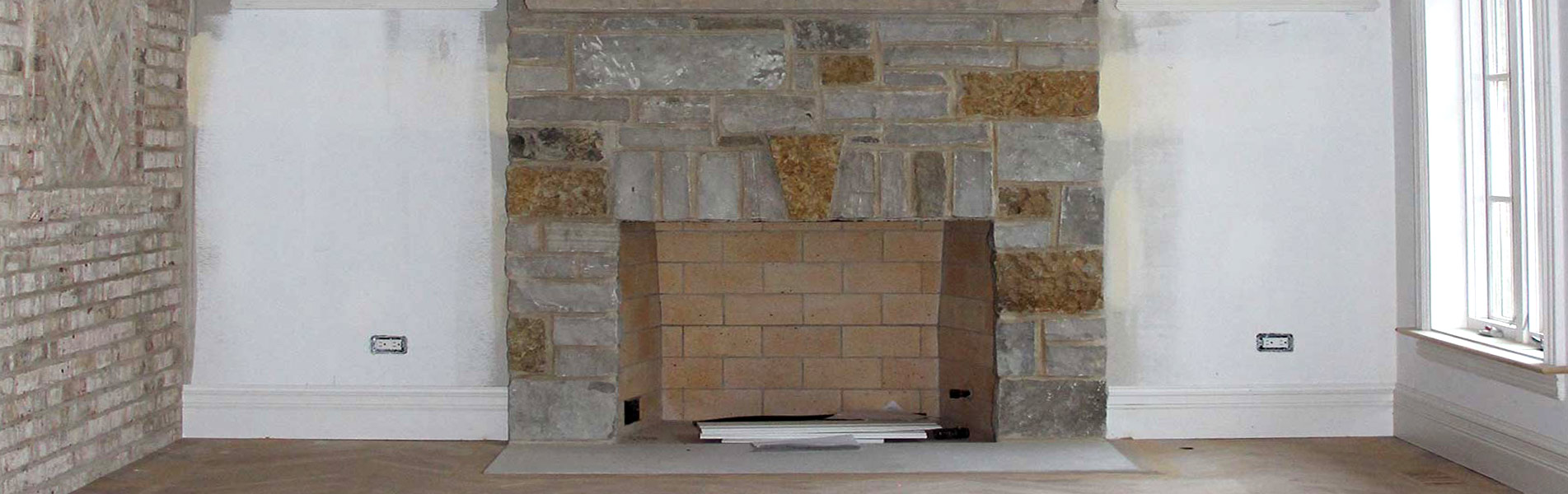 Indoor Fireplaces Installation Services by B&C Pavers and Landscaping Inc.