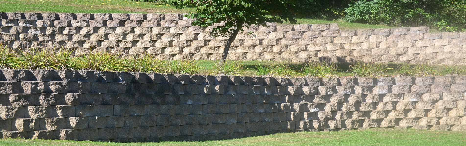 Retaining Wall Installation Services by B&C Pavers & Landscaping Inc.