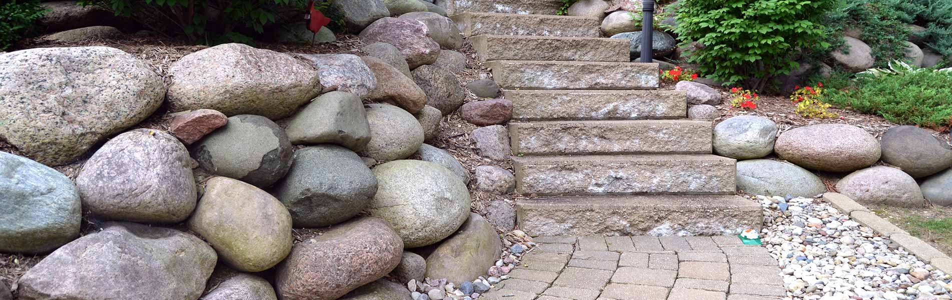 Sidewalk & Walkway Installation Services by B&C Pavers and Landscaping Inc.