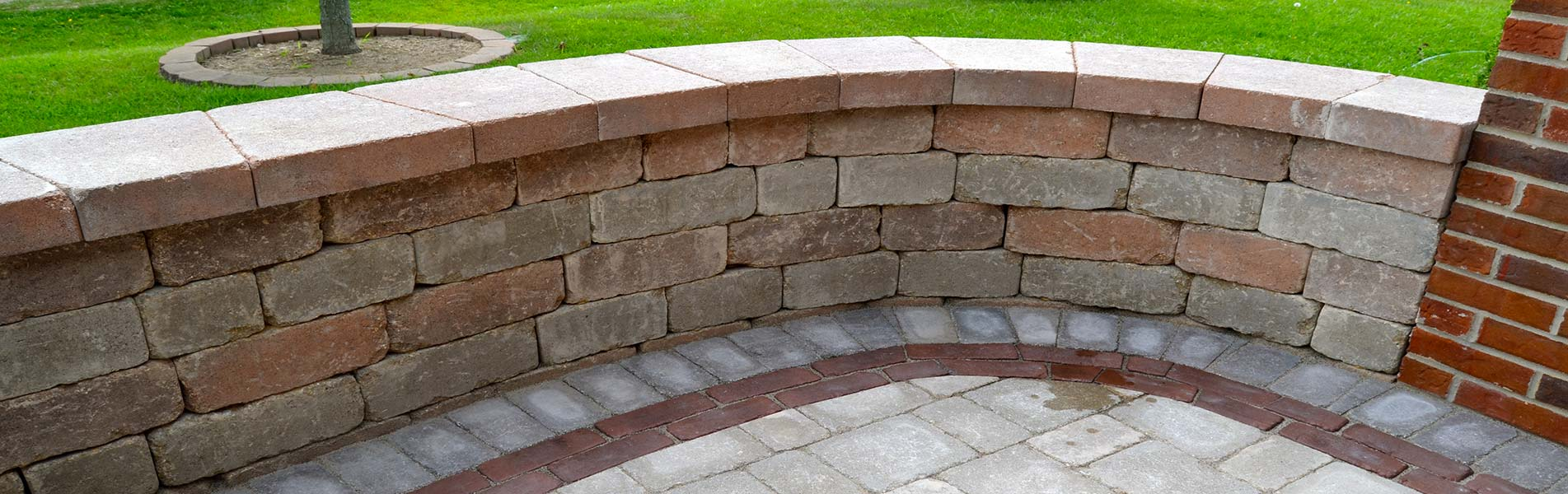 Sitting Wall Installation Services by B&C Pavers & Landscaping Inc.