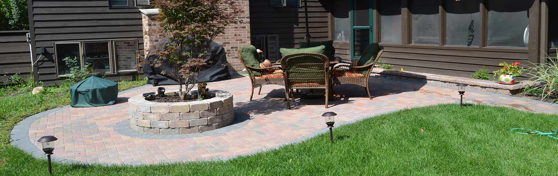 Custom Landscape Design & Development Services by B&C Pavers & Landscaping Inc.